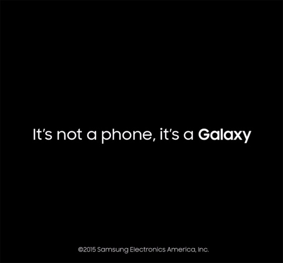 its not a phone its a galaxy
