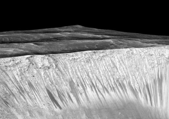 mars water nasa