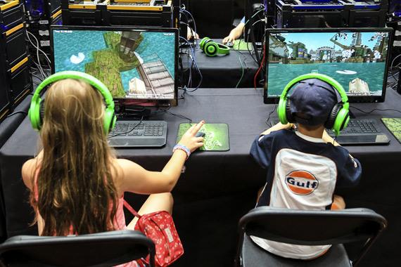 Minecraft kids