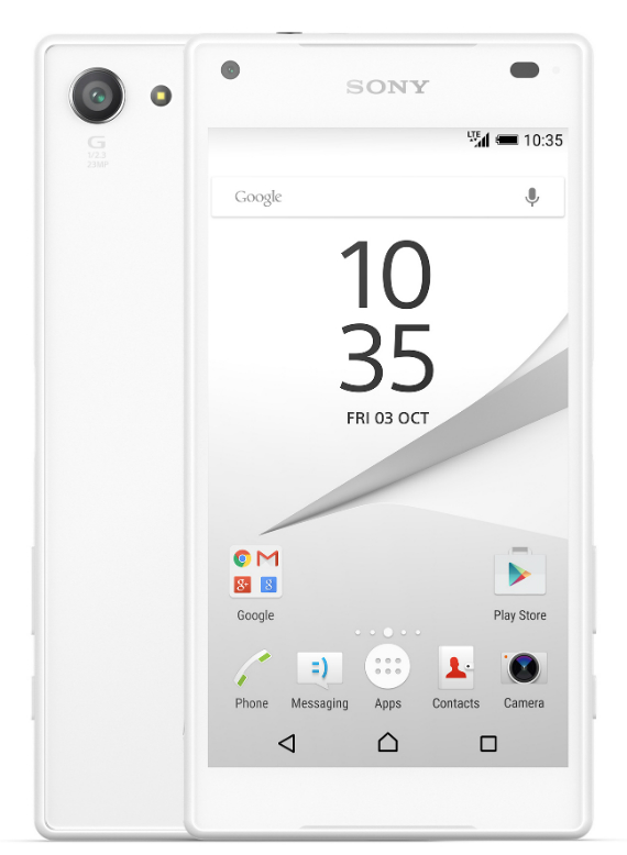 sony xperia z5 compact official