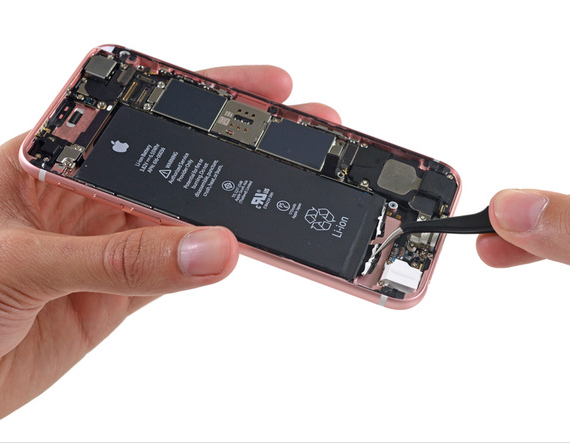 teardown iphone 6s