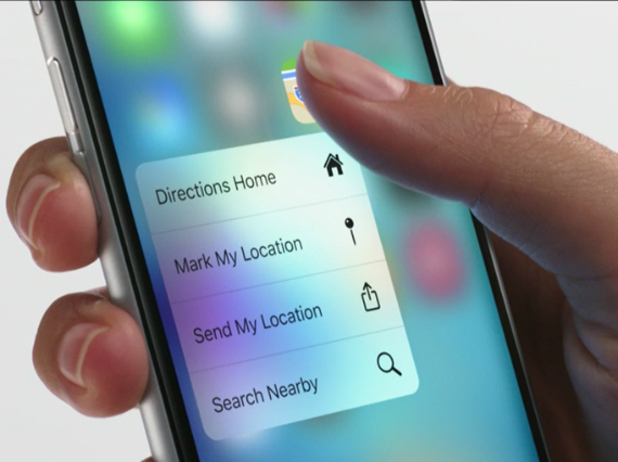 3d touch apple
