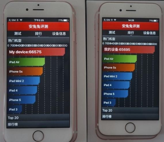 AnTuTu iphone 6s