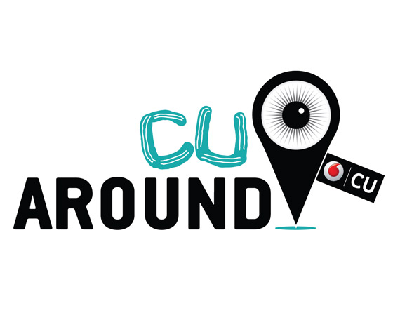 CU Around Vodafone logo