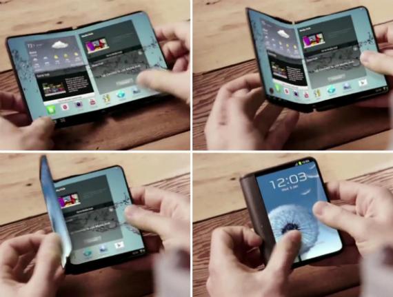 Folding phone