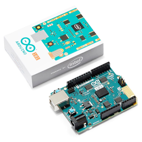 Intel Arduino 101 revealed