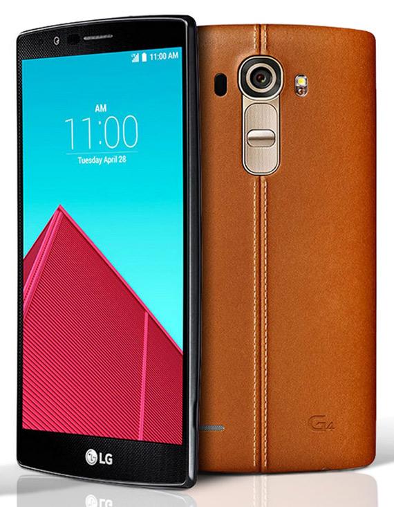 LG G4 leather light brown