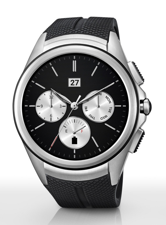 LG Watch Urbane 2nd Edition black
