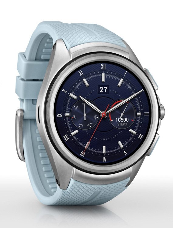LG Watch Urbane 2nd Edition blue