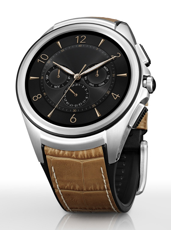 LG Watch Urbane 2nd Edition leather