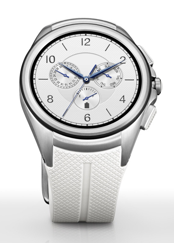 LG Watch Urbane 2nd Edition white