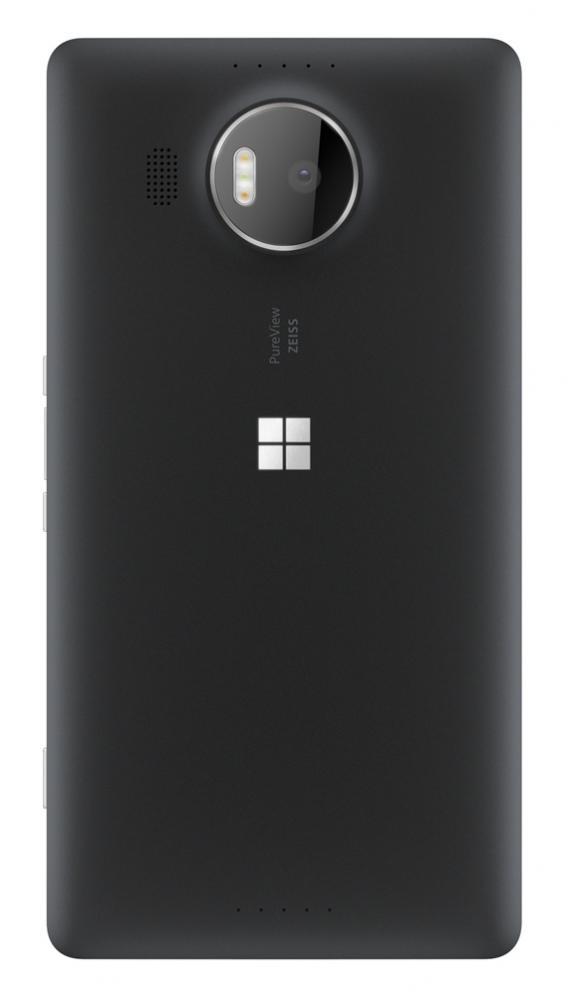 Lumia 950 XL black back