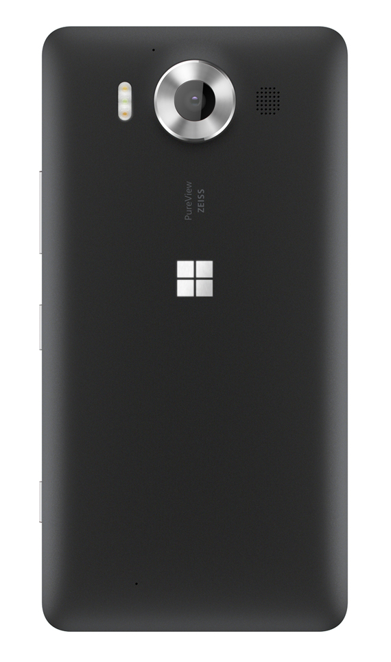 Lumia 950 black back