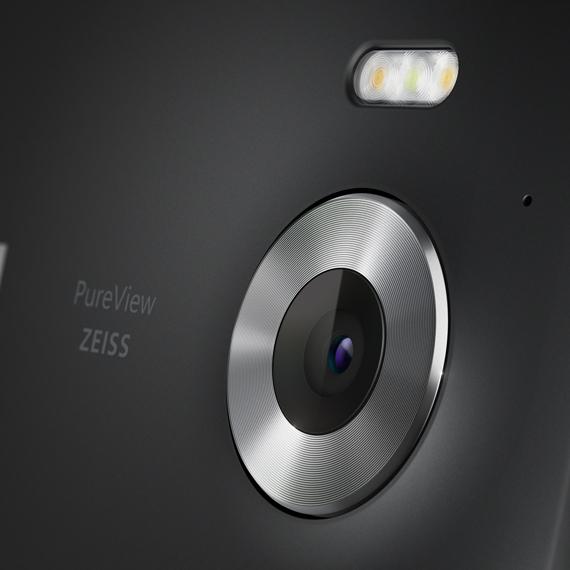 Lumia 950 black camera