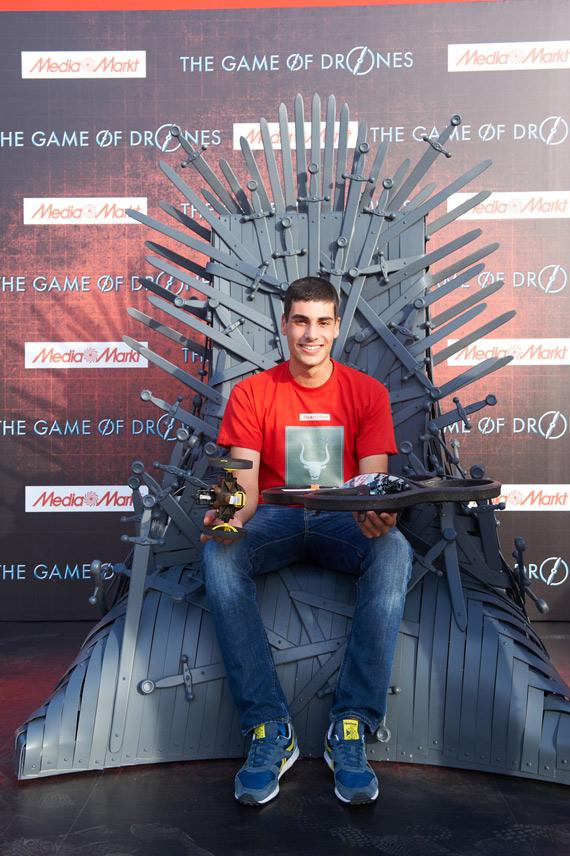 Media Markt Games of Drones winner