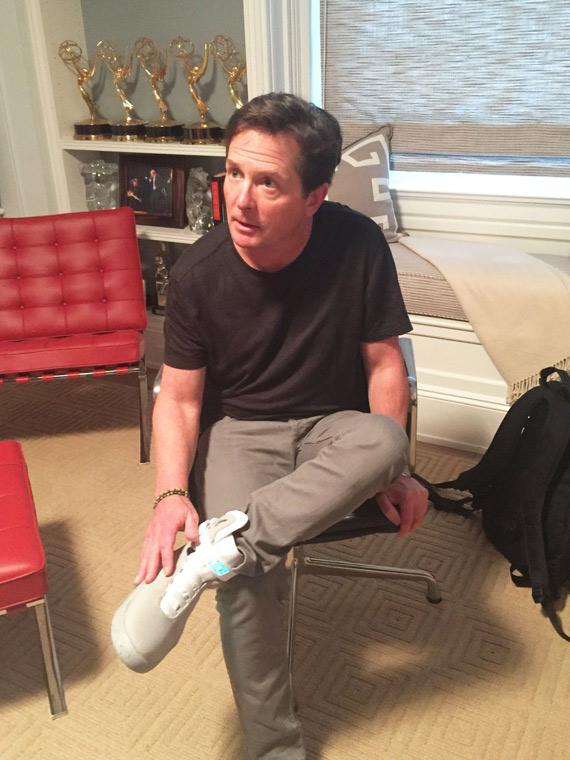 Michael J. Fox Nike MAG 2015