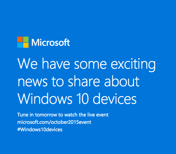 Microsoft Windows 10 mobile event