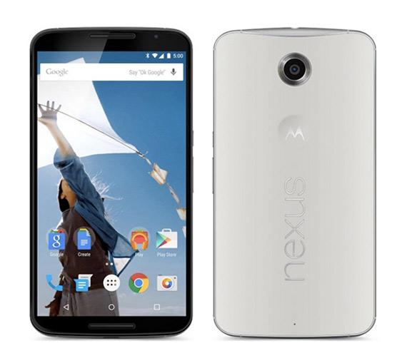 Nexus 6 white