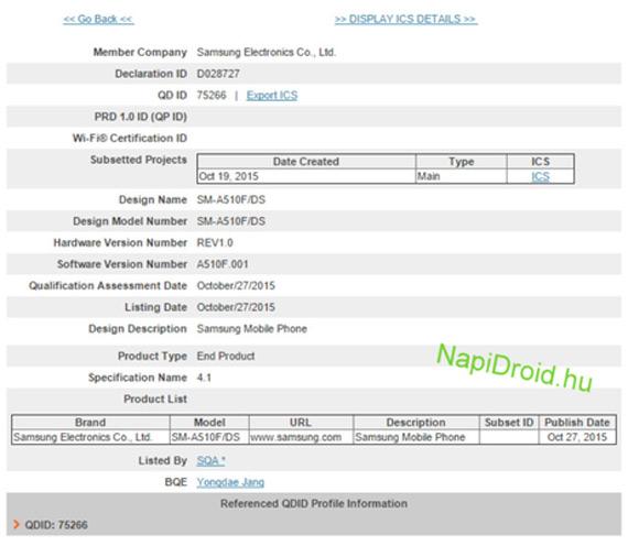 Samsung SM-510F Bluetooth-1