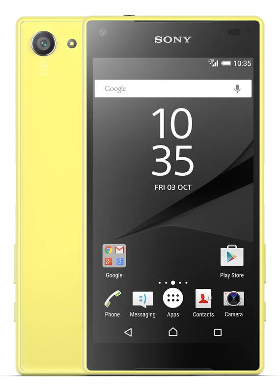 Sony-Xperia-Z5-Compact-yellow