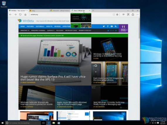 Windows 10 build 10558