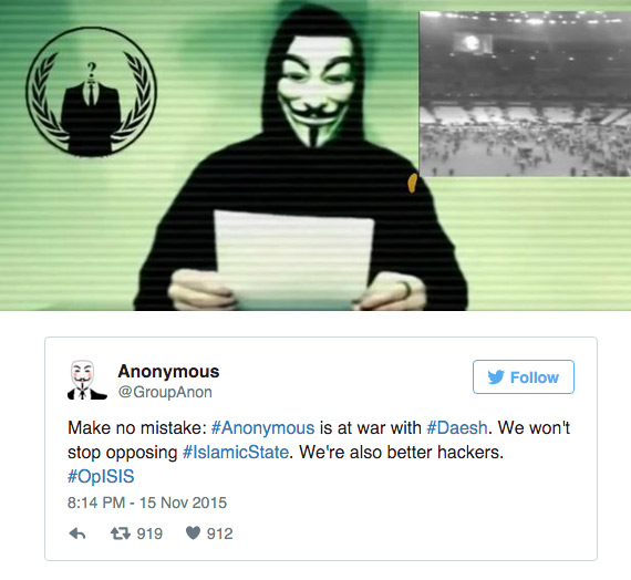 Anonymous OpISIS