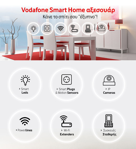 Vodafone Smart home logo