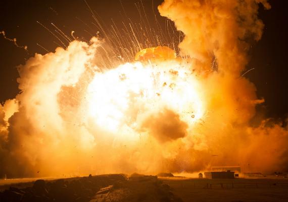 nasa explosion