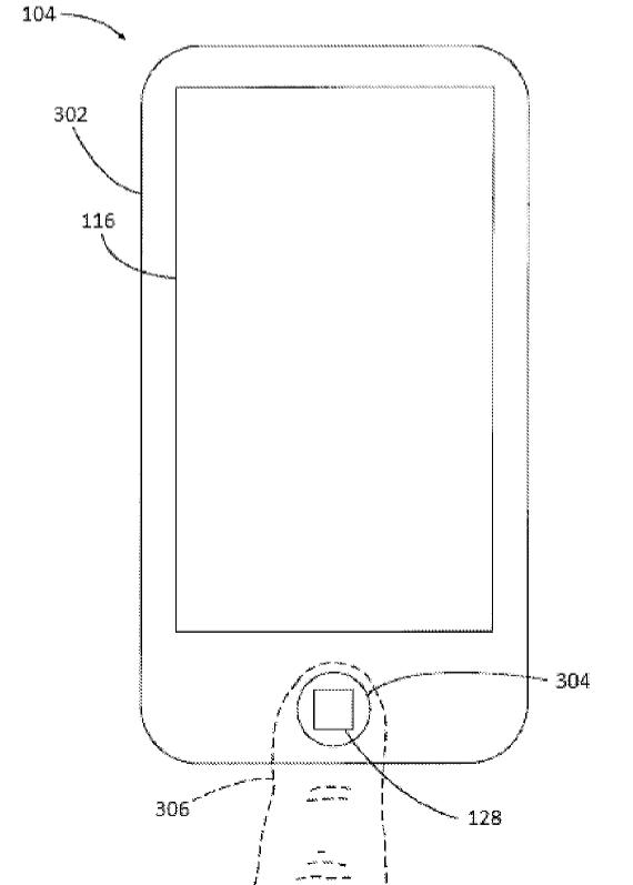 patent TouchID panic mode