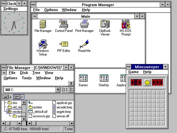 windows 30 years