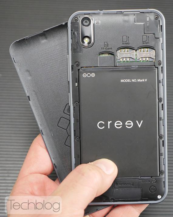 Creev Mark V hands-on TechblogTV