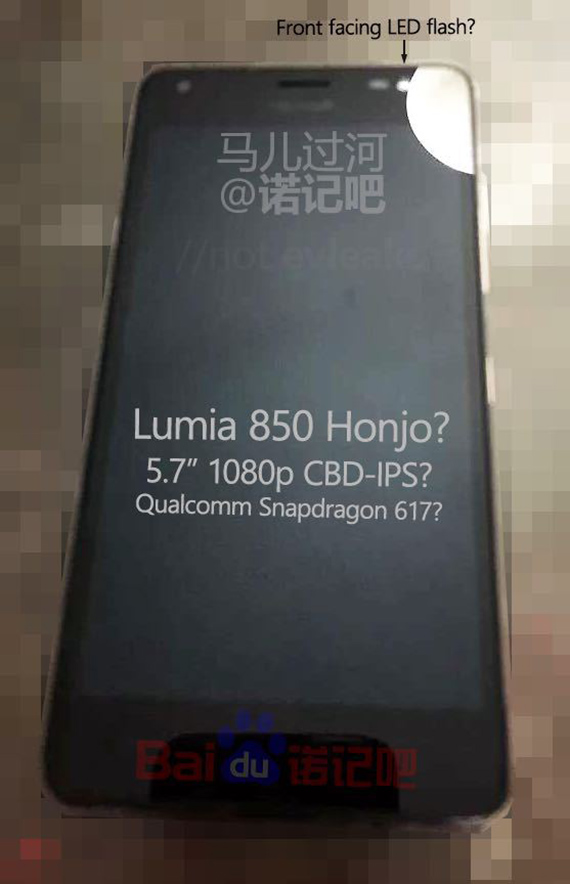 Microsoft-Lumia 850 leak 1