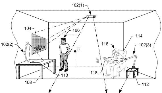 amazon ar patent
