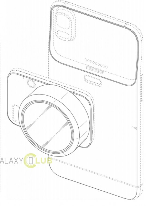 samsung modular camera smartphone