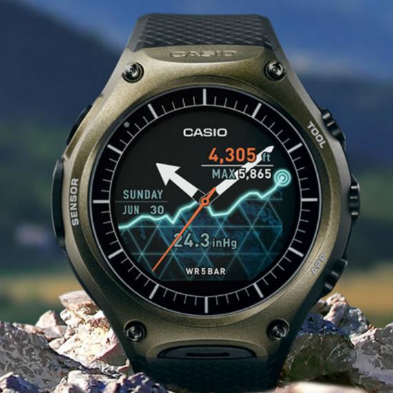 Casio: Ανακοίνωσε σκληροτράχηλο Android Wear smartwatch [CES 2016] Casio-smartwatch-04-570