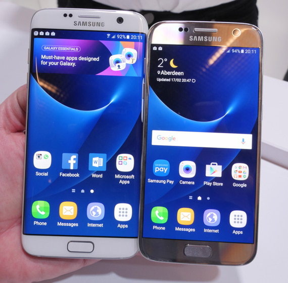 Galaxy S7 Galaxy S7 Edge hands-on