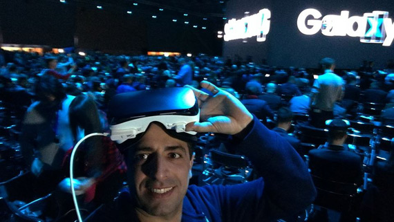 Galaxy S7 event with Gear VR