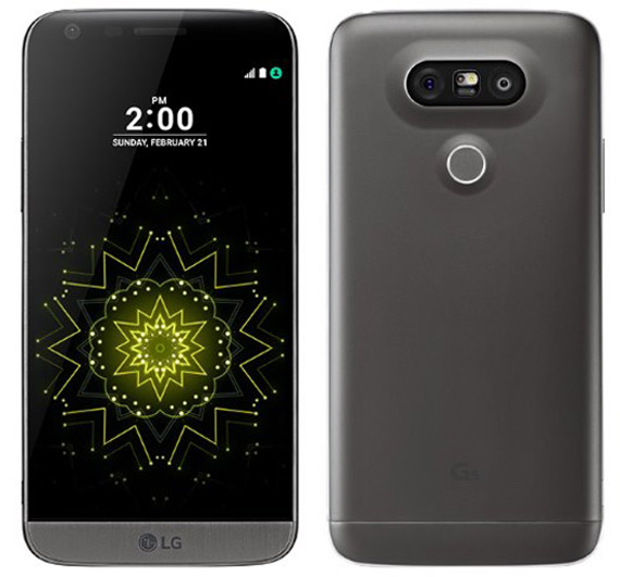 LG G5 revealed