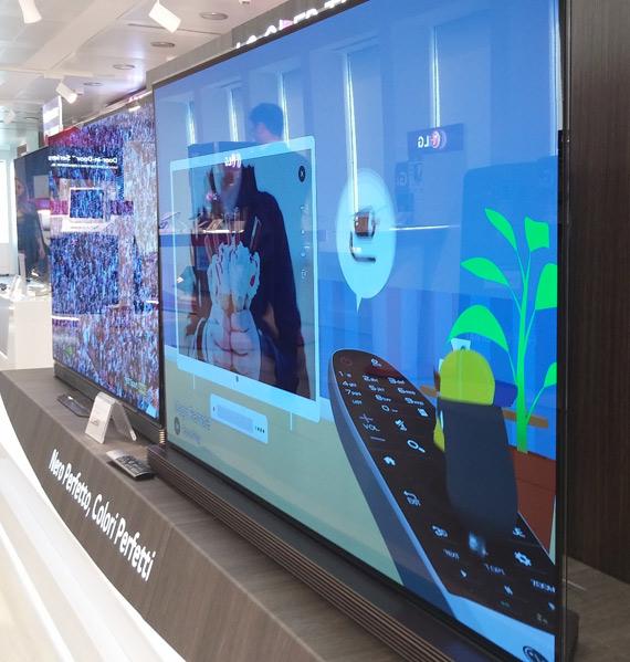 LG OLED TV 2016 Milan