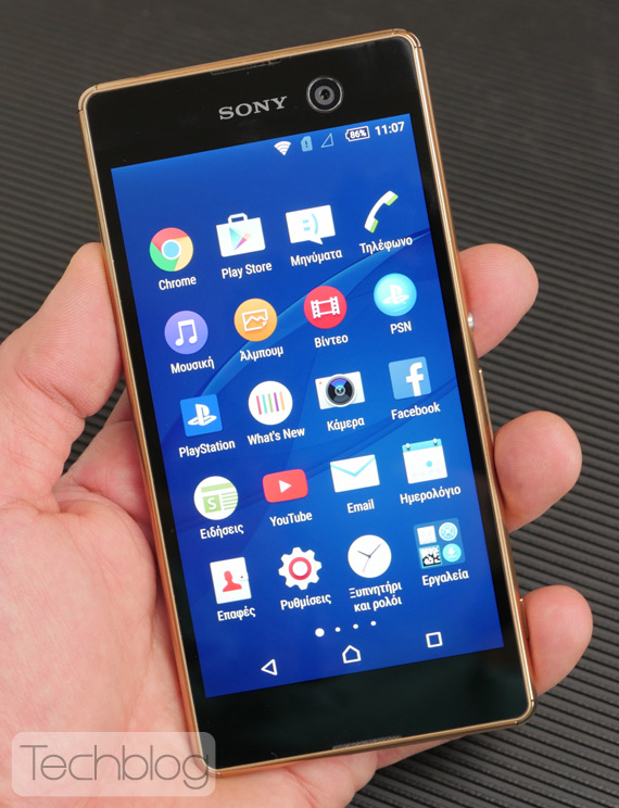 Sony Xperia M5 hands-on TechblogTV