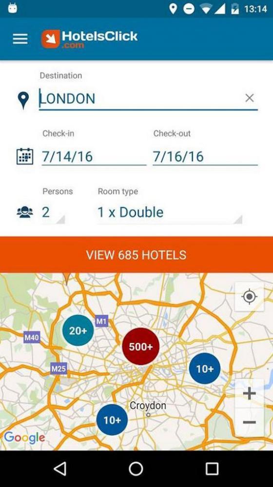 hotelsclink app