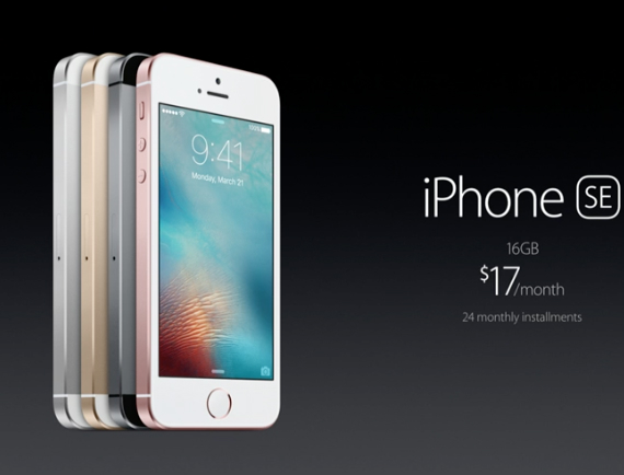 iPhone SE revealed