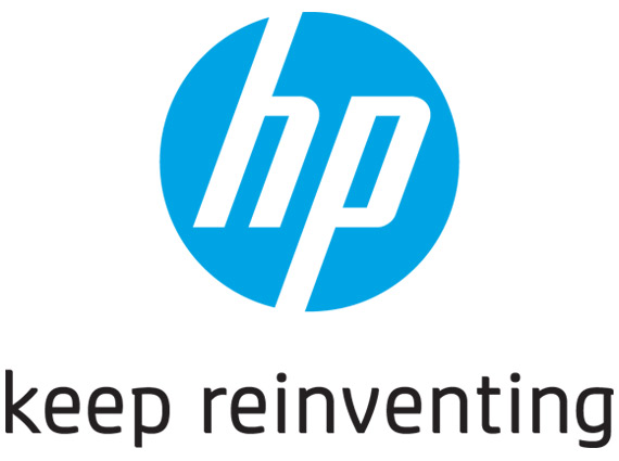 HP Keep reinventing logo