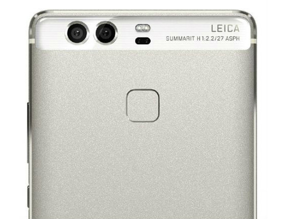 Huawei P9 back close-up