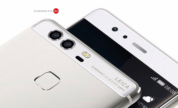Huawei P9 duo back