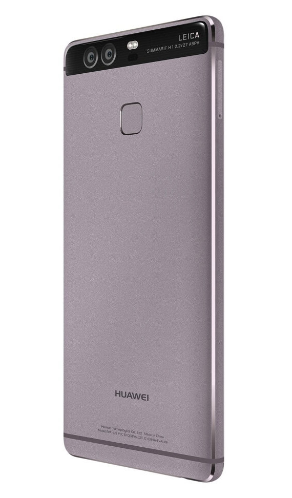 Huawei P9 revealed black back