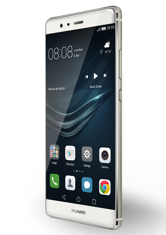 Huawei P9 revealed white