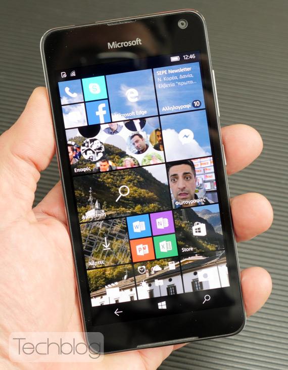 Microsoft Lumia 650 TechblogTV
