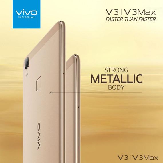 Vivo V3 and V3 Max