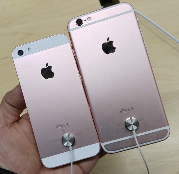 iPhone SE hands-on iPhone 6s back